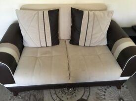 paloma sofa sofology art deco sofas melbourne 2 x 4 seaters footstool in warrington cheshire set half leather