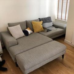 Dfs French Connection Quartz Sofa Review Brown Leather Click Clack Bed Cheap Corner Sofas London Urban Home Interior Left Hand Side