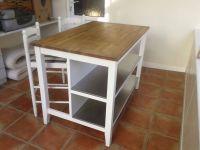 Ikea STENSTORP kitchen island unit + 2 bar chairs | in ...