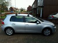 Mk5/6 Volkswagen Golf Roof Rack ,Thule Roof Rack 754 ...