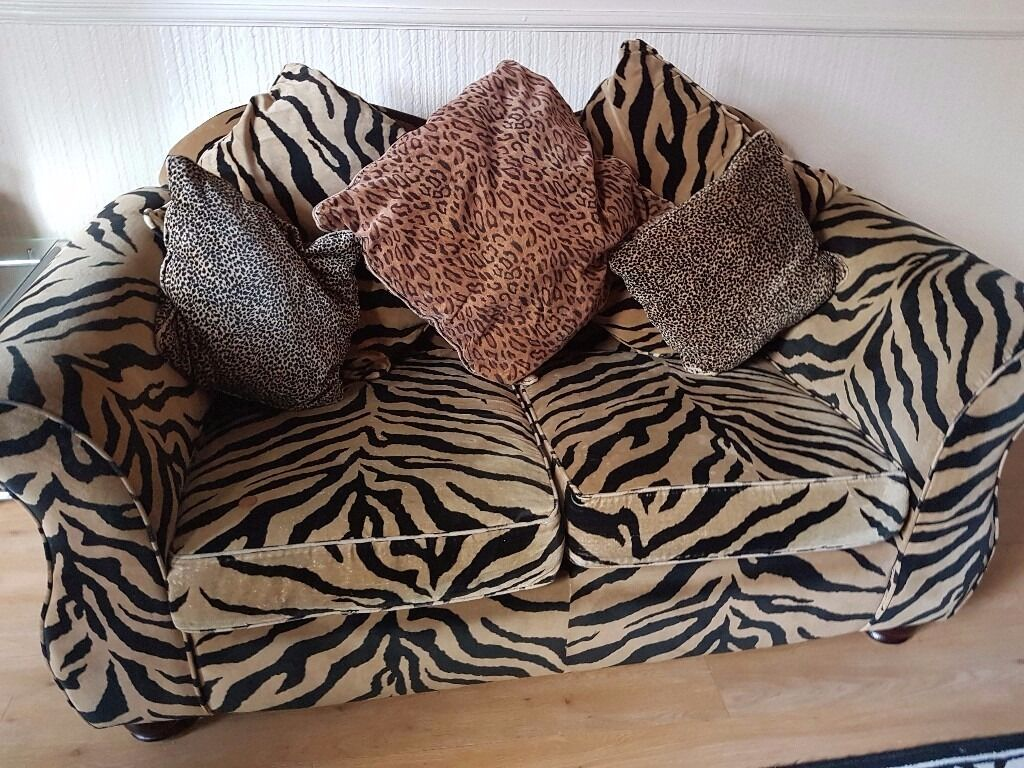tiger print sofa set sets designs suddenly a leopard ears thesofa