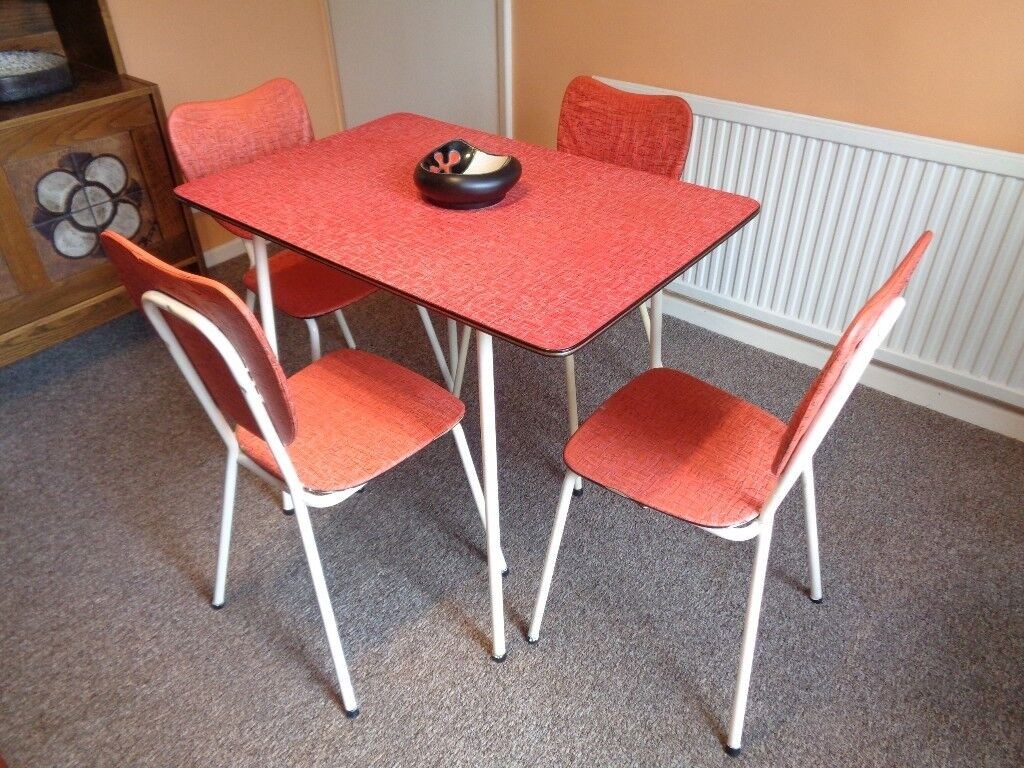1950s kitchen table movable islands original 1950 s chairs set in birstall
