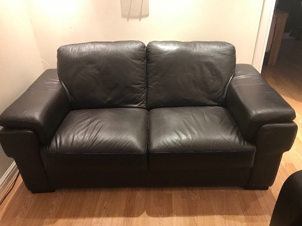 black leather sofas on gumtree next quentin sofa bed review 2 seater in east kilbride glasgow