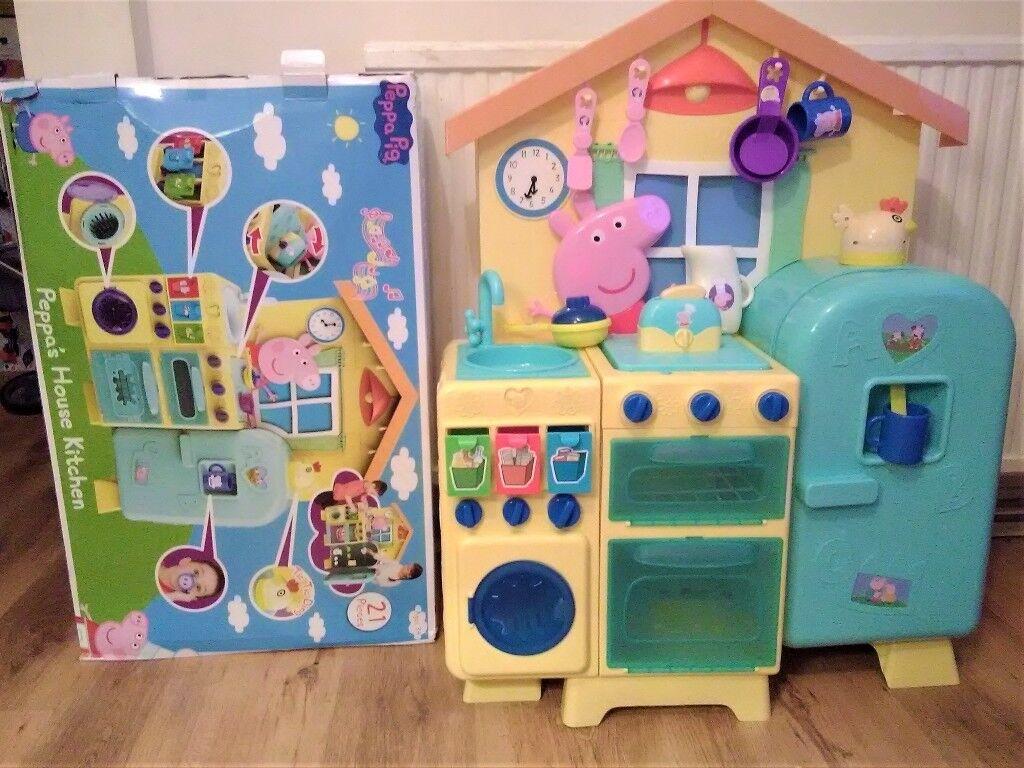 pig kitchen cabinets storage ideas peppa s house in new haw surrey gumtree