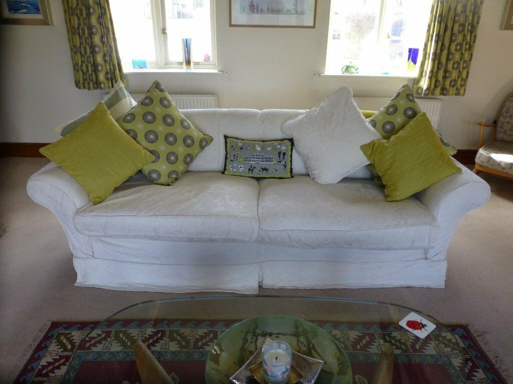 cotton loose sofa covers floor reclining bed sumptuous tetrad alicia grand washable