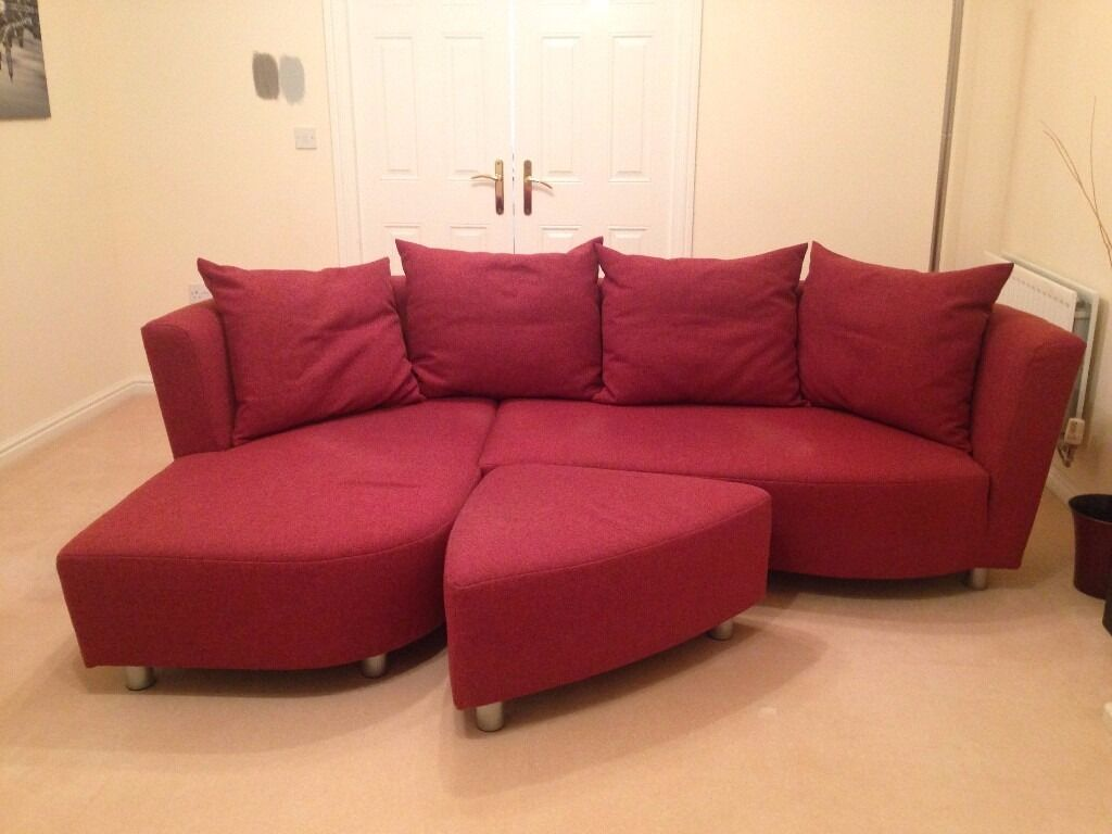 72 inch sofa with chaise atherton home soho convertible futon bed and lounger dark red hulsta longue extension plus