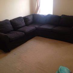 Ikea Rp Sofa Bed Covers 2 Seater Hunter Green 5 Seat Corner Vimle Gunnared Dark