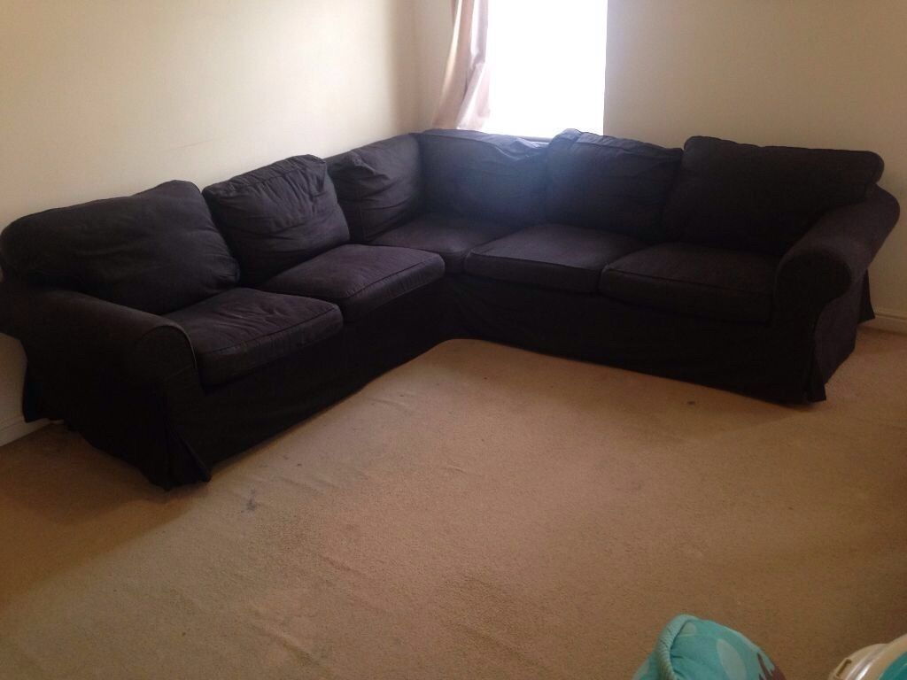 ikea rp corner sofa covers uk tray table natural 5 seat vimle gunnared dark