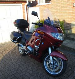 bmw r1150rt sports tourer motorcycle with extras 2002 long mot [ 1024 x 768 Pixel ]