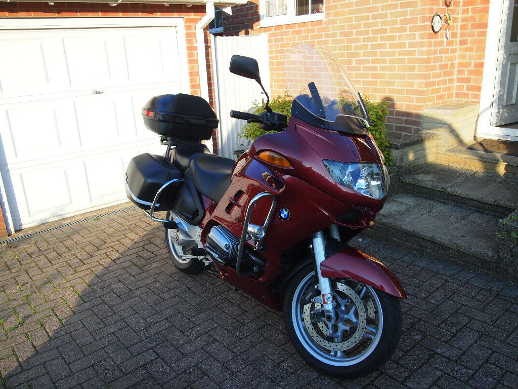 hight resolution of bmw r1150rt sports tourer motorcycle with extras 2002 long mot
