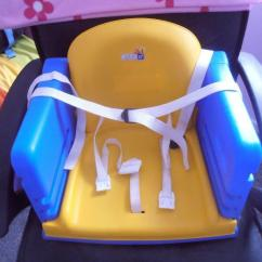 Restaurant High Chair With Tray Space Saver Plastic Booster Seat In Cwmbran