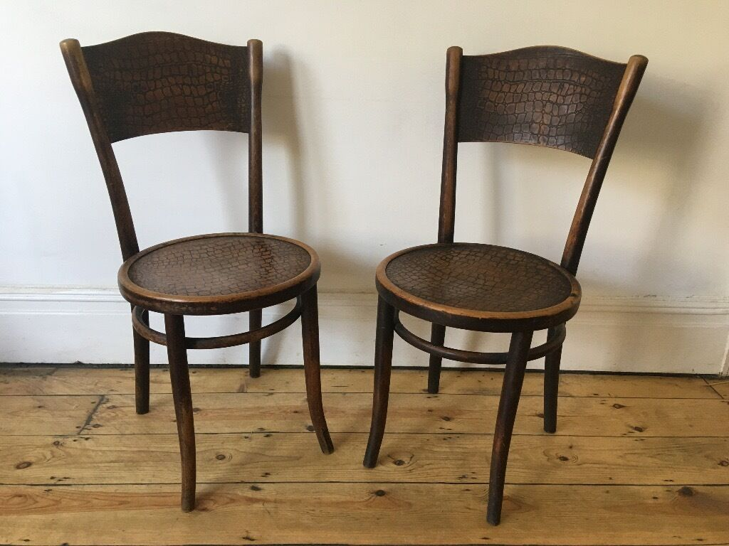 Cafe Chairs Vintage Thonet Bentwood Cafe Bistro Dining Chairs Poland