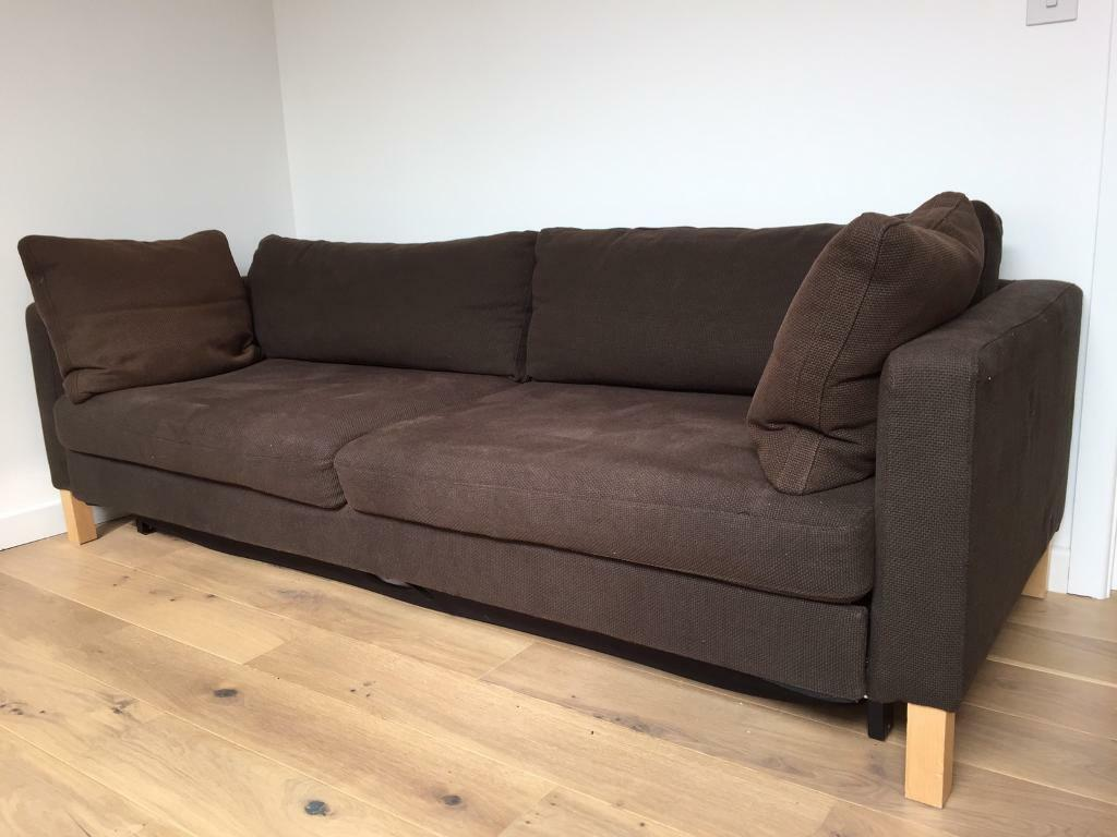 sofa bed cheap london 399 store financing 3 seater king size very comfortable by ikea