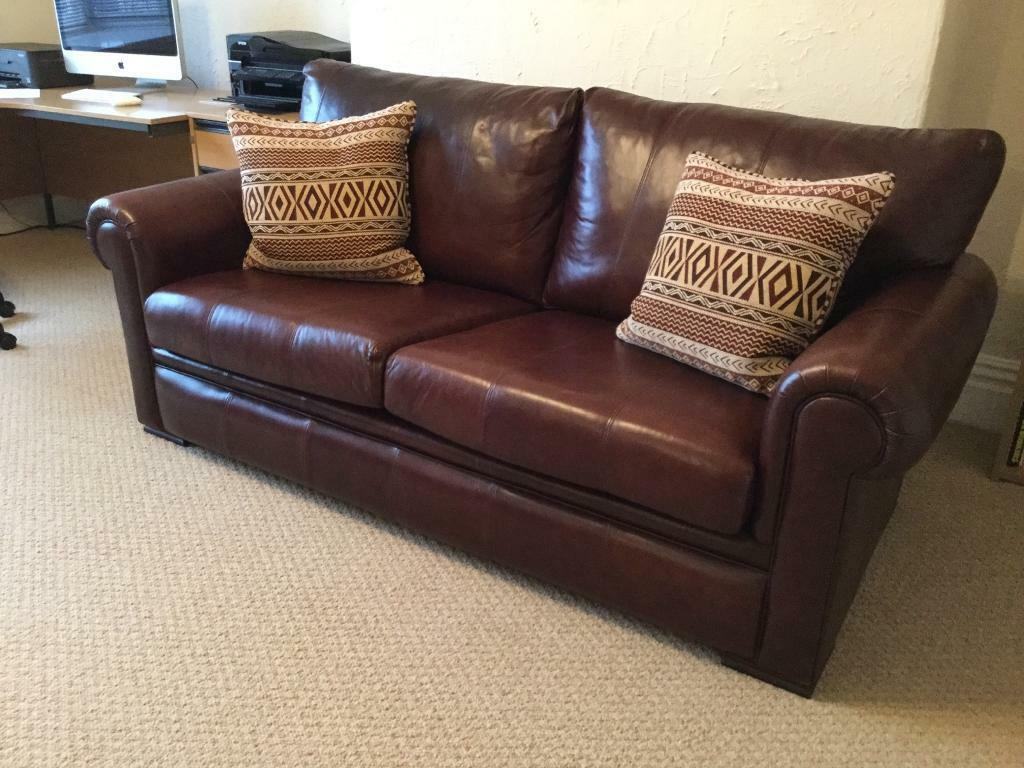 big leather sofa u shaped sectional bed derwent large in mossley hill merseyside