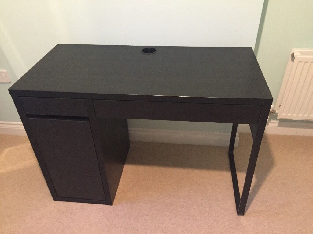 Micke desk blackbrown from IKEA  in Pontyclun Rhondda
