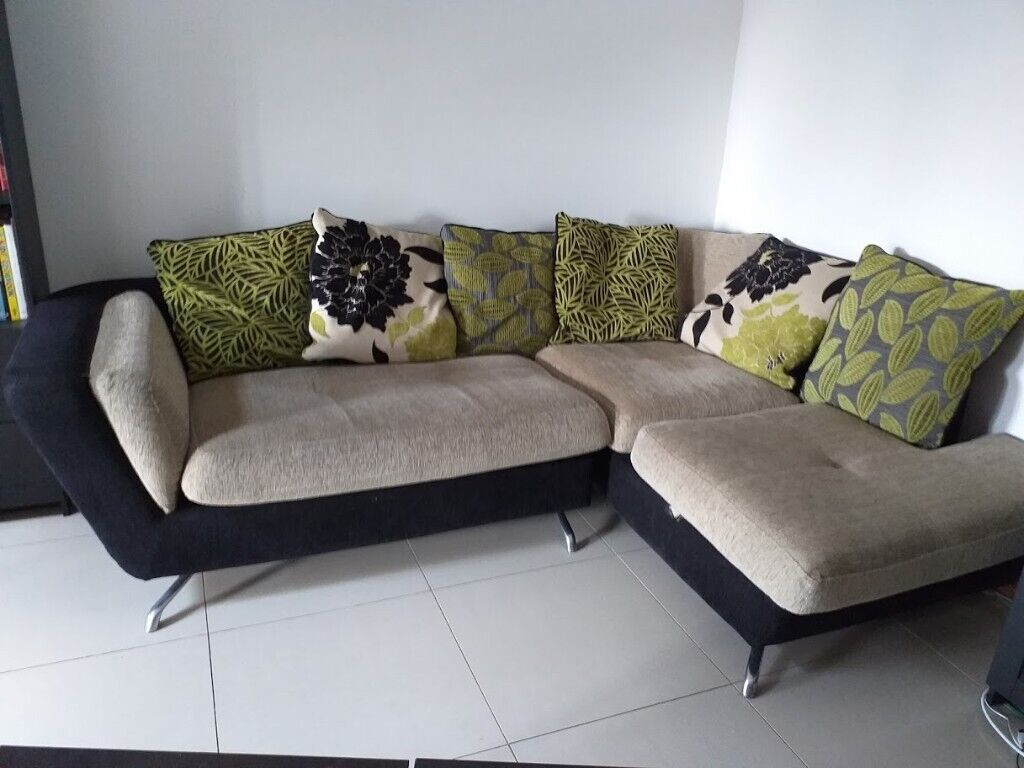 Score these unbelievable sales for outdoor furniture deals. fabric corner sofa from furniture village, 6 years old but ...