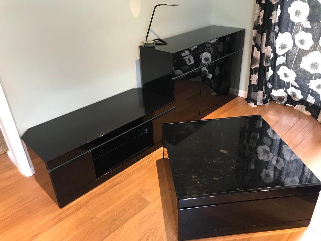 living room furniture black gloss decorating pictures for apartments 3 piece set in halesowen west