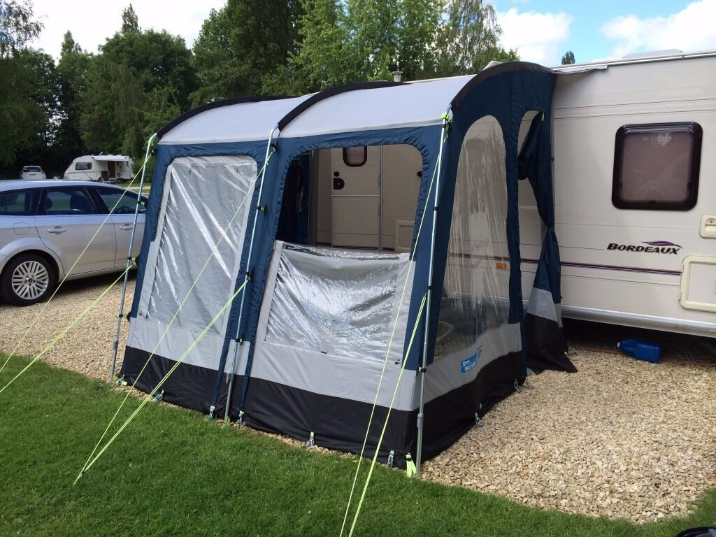 Kampa Rally Club 260 Awning In Blue