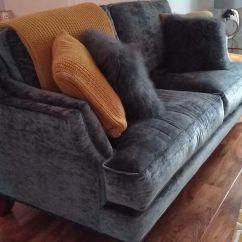 Art Deco Sofas On Gumtree Sofa Tv Tray Charcoal Velvet Designs