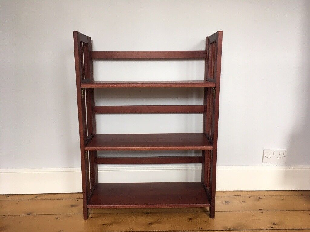 Solid Wood Folding Bookcase In Cambridge Cambridgeshire Gumtree