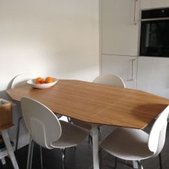 Drop Leaf White Kitchen Table 2 Seater Set Ikea Ps 2012 | In St Ives, Cambridgeshire ...