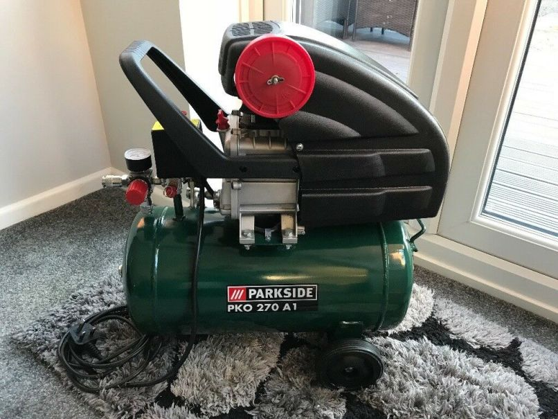Spares Non Working Air Compressor Parkside Pko 270 A1