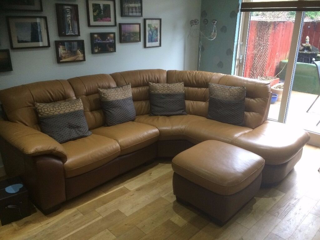 free sofa uplift glasgow 2 seater leather for office dfs corner unit and storage pouffe dijon