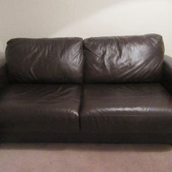 Furniture Village Sofa Bed Dante Richmond Dark Brown Leather From For