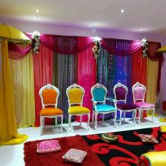 Chair Covers Wedding Manchester Table And 2 Chairs For Hire Mehndi Stages In
