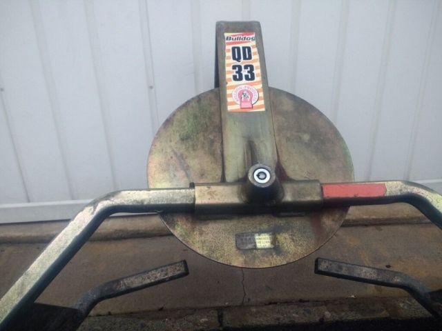 bulldog qd33 wheel clamp   in blyth, northumberland   gumtree
