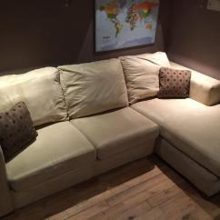 Sofa Bed Reduced Modern Sleeper Vancouver Corner With Chaise From Dfs In