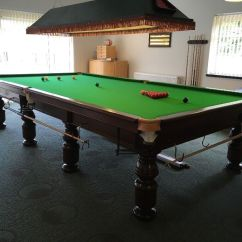 Chair Cover Velour Garden Covers Bunnings Full Size Snooker Table With Accessories | In Usk, Monmouthshire Gumtree
