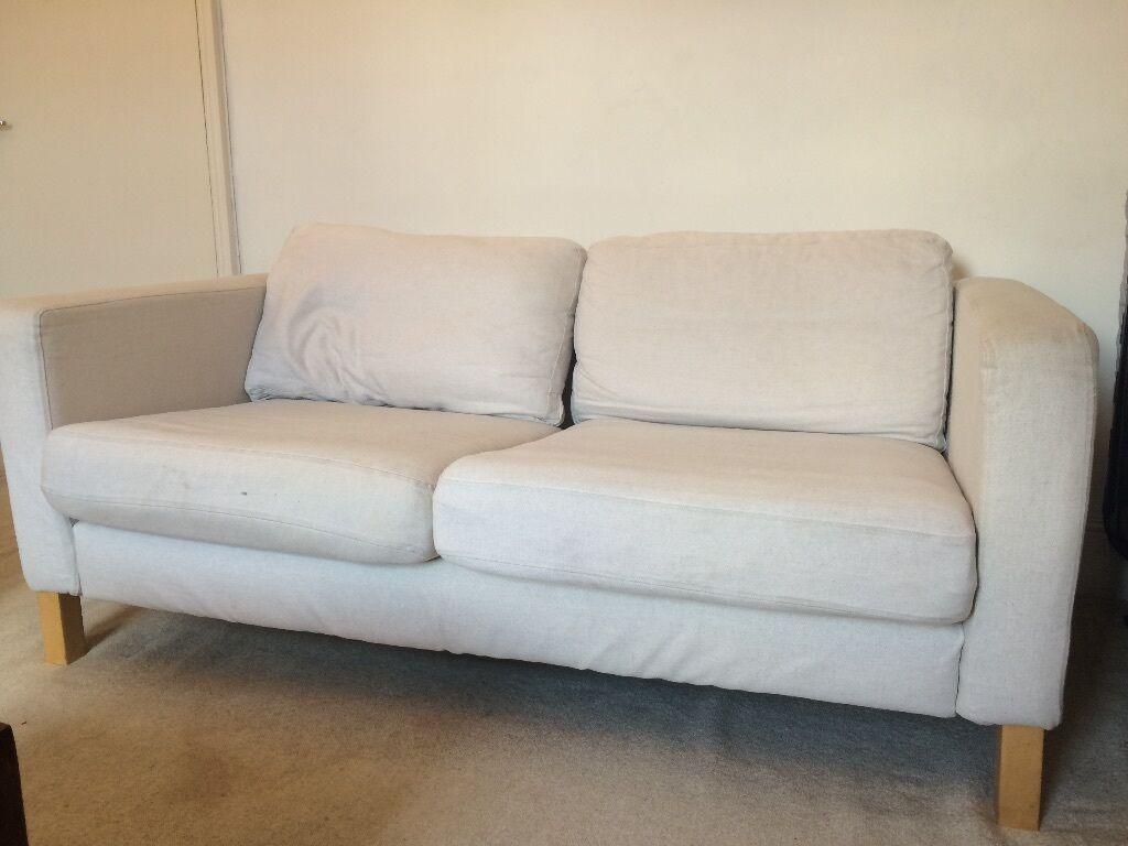 karlstad sofa blekinge white full grain leather sofas uk ikea two seat pick up only rrp