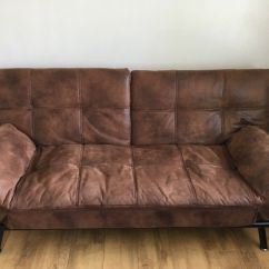 Sofa Bed Reduced Leather Brand Comparison Brown Suede 50 In Chester Le