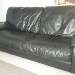 Sofas On Gumtree Leather Westport Sofa Ex Gillies Italian 3 Seater And Chair In