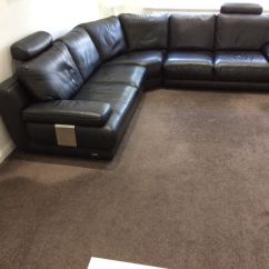 Corner Sofas Glasgow Gumtree Free Sofa Removal Sheffield Sofology Dolcetto Black Leather In Southside