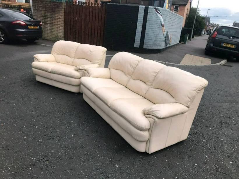 Cream Leather Sofa Gumtree Belfast Www Energywarden Net