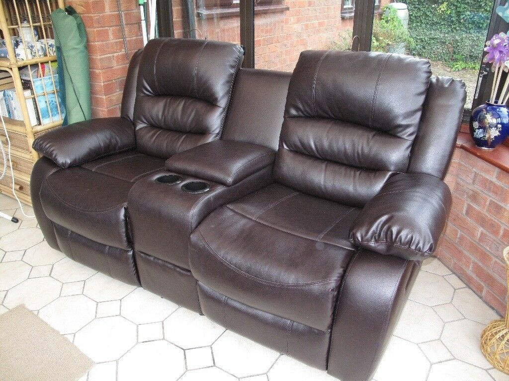 cheap sofa legs how much is a bed 2 seater reclining with cup holders and centre ...
