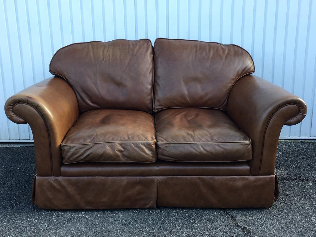 padstow 2 seater sofa laura ashley ivory leather repair kit brown chichester in