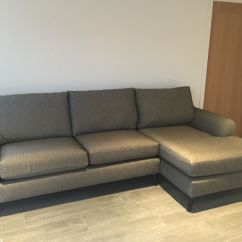 Grey Fabric Sofa Next Cushion Alternatives Corner Ads Buy And Sell Used Find Great Prices