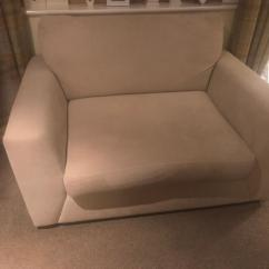 2 Seater Love Chair Best Office For Back Support 2018 Snuggle Seat Cream Dfs In Ferryhill County