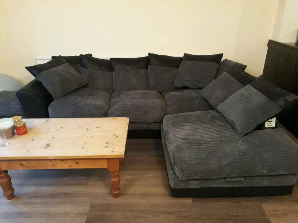 bluebell sofa gumtree wicker patio sets large harley right hand corner and footstall only 5