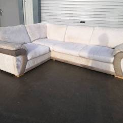 Corner Sofas Glasgow Gumtree Oo Com Au Sofa Bed Cream Cord Fabric Couch Suite Delivery In Southside