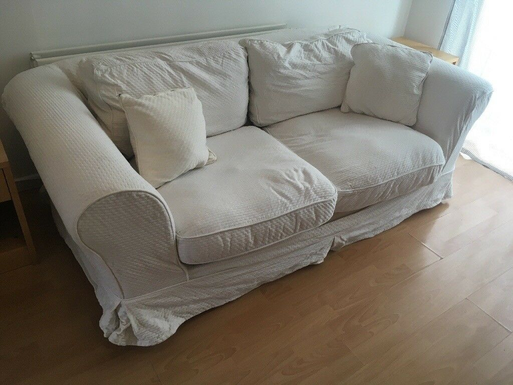 White sofa bed for sale  in Finaghy Belfast  Gumtree