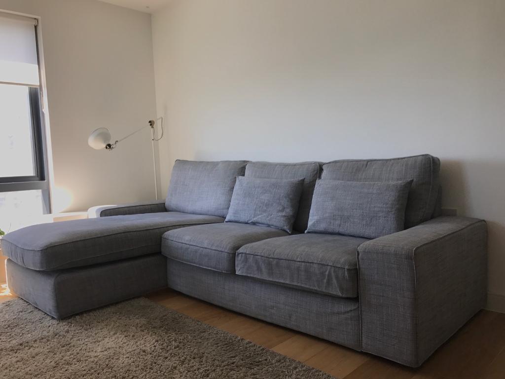 IKEA Kivik Two Seater Sofa with chaise longue  in Southampton Hampshire  Gumtree
