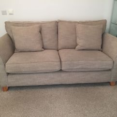 Next Brompton Leather Sofa Angled Chaise Sectional Brokeasshome