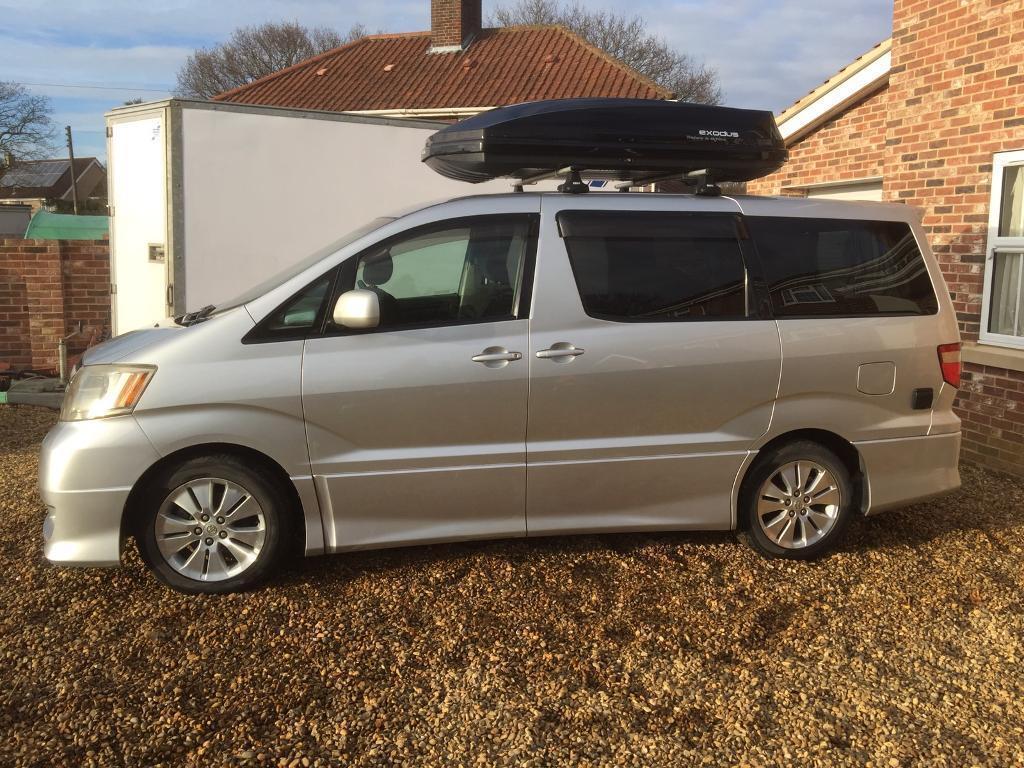 brand new toyota alphard for sale jual velg all yaris trd camper van motor home in norwich