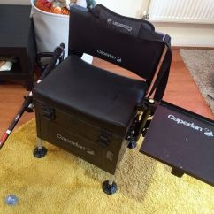 Fishing Chair Box Gym Shop Caperlan Csb Comfort Still Seat In Todmorden