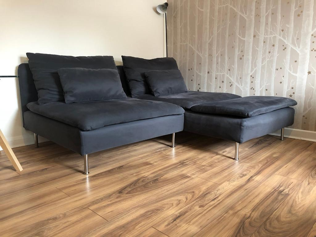 sofa ikea kivik opiniones macy s milano brown sectional leather sÖderhamn in swindon wiltshire gumtree