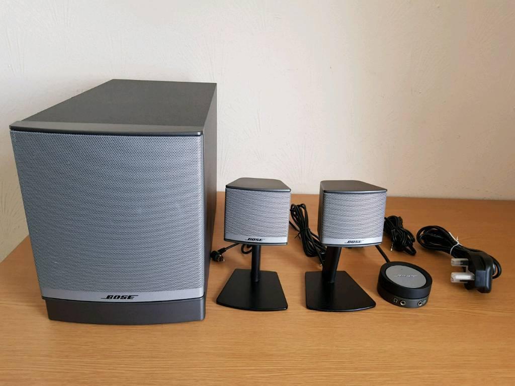BOSE COMPANION 3 SERIES II 2.1 AUDIO SYSTEM | in Wishaw. North Lanarkshire | Gumtree